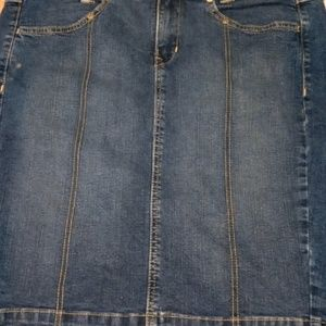 Signature by Levi Strauss and Co. Denim Skirt